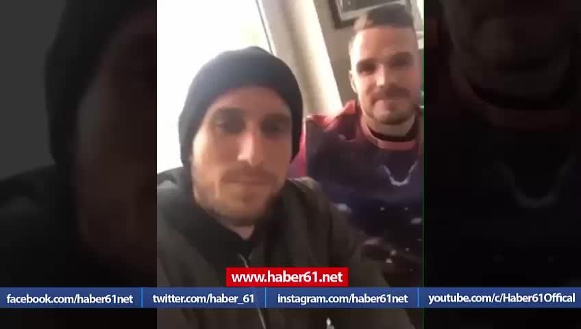 Novak'tan Yusuf Yazıcı'ya : Selamun Aleykum gardaş!