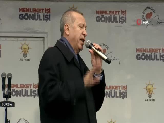 Peribacaları'ndaki inşaat için Erdoğan'dan talimat