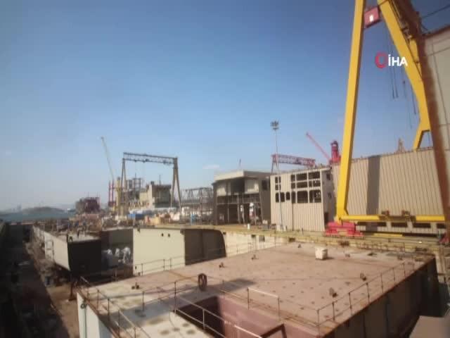 TCG Anadolu'nun yapım süreci paylaşıldı