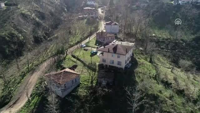 Heyelan riski nedeniyle bazı evler boşaltıldı