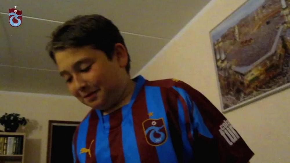 Trabzonsporlu iki taraftarın hayalleri gerçek oldu