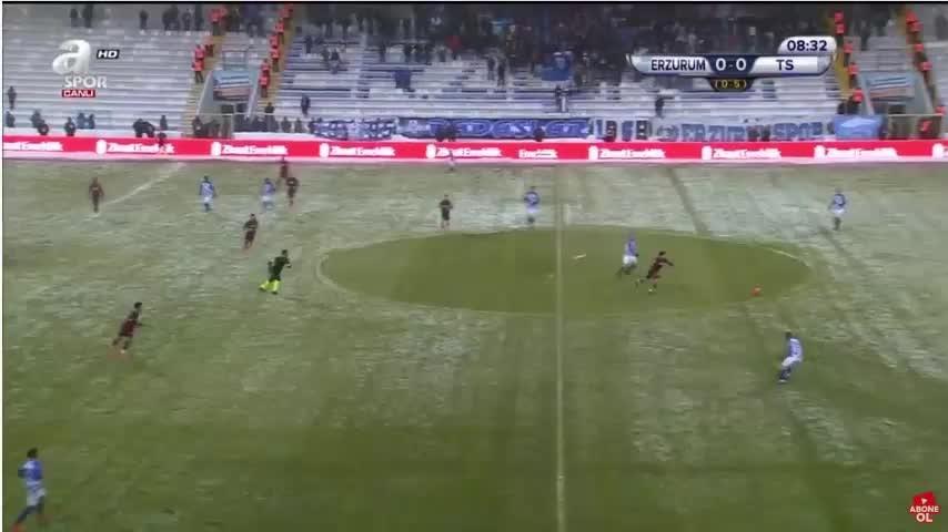 Guilherme attı, Trabzonspor öne geçti