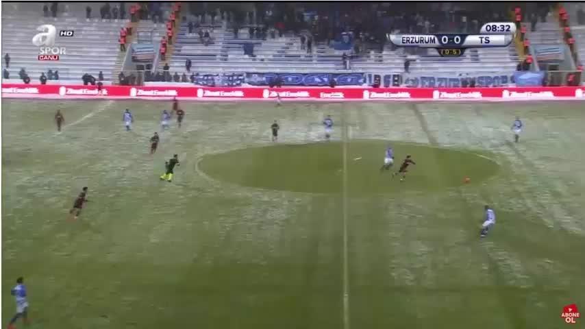 Erzurumspor Trabzonspor maçının golleri