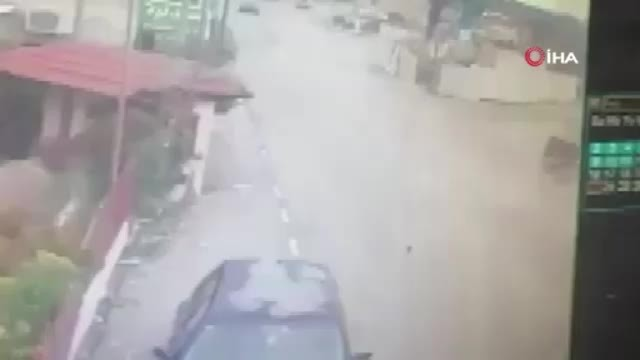 Filistin'de kasıtlı trafik kazası: 2 yaralı