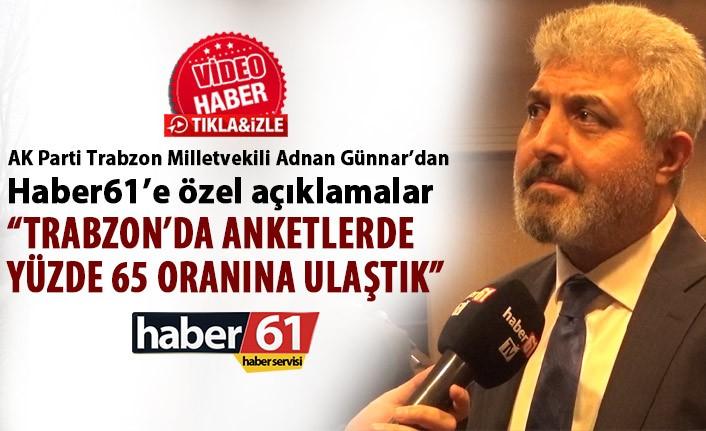 Adnan Günnar'dan Haber61'e özel açıklamalar