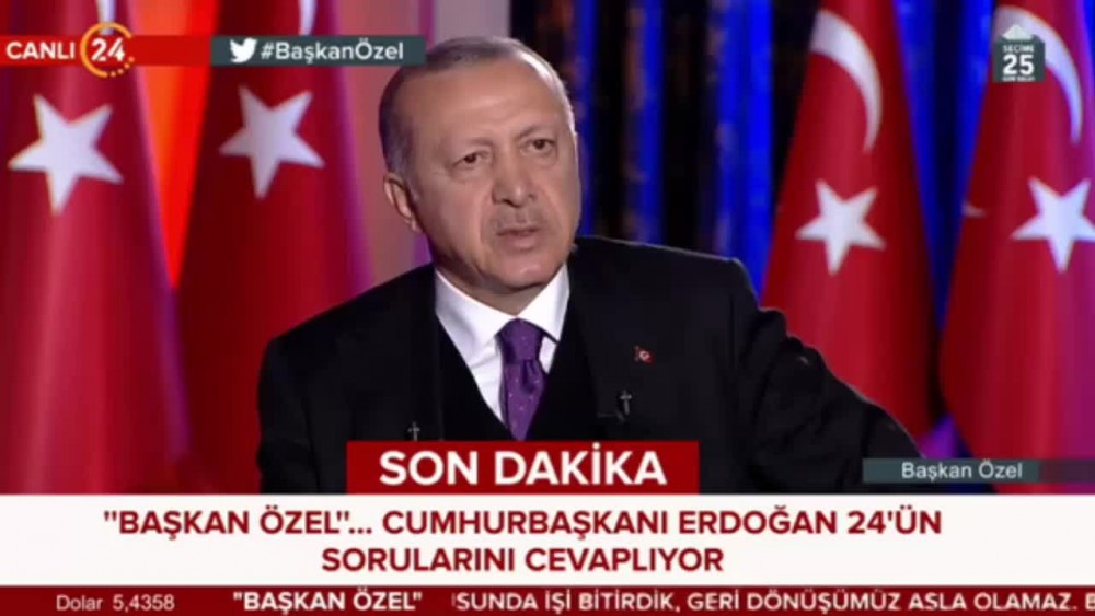 Erdoğan'dan Güneş açıklaması