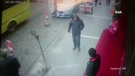 Trabzon'da hırsızlık - Görüntüleri izleyince farkına vardılar