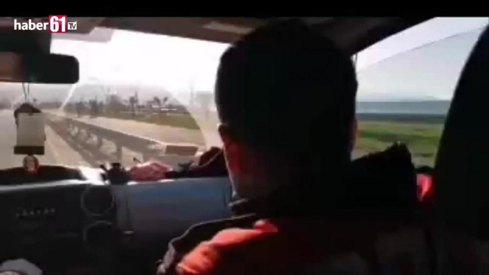 Trabzonda polis vatandaşları böyle uyardı