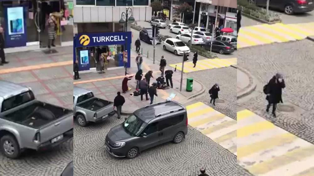 Rizede sokak ortasında eski eş dehşeti
