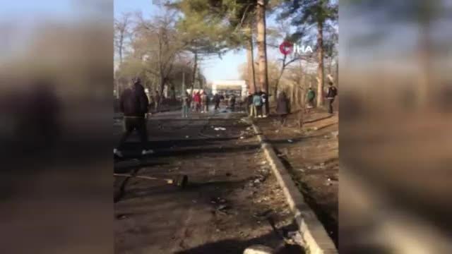 Yunan güvenlik güçlerinin, Pazarkule'deki mültecilere sert müdahalesi sürüyor