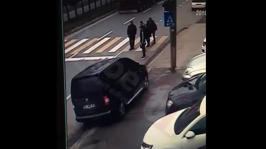 Trabzon'da kaza – 1 Yaralı Kameraya böyle yansıdı