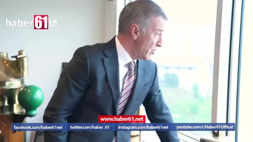 Ahmet Ağaoğlu: Trabzon sadece spor kenti değil