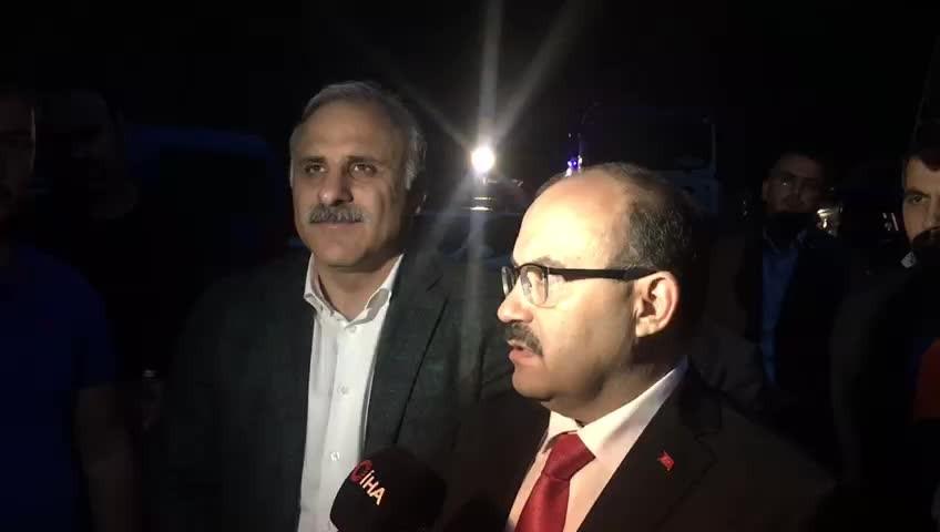 Trabzon Valisinden şehitler için ilk açıklama