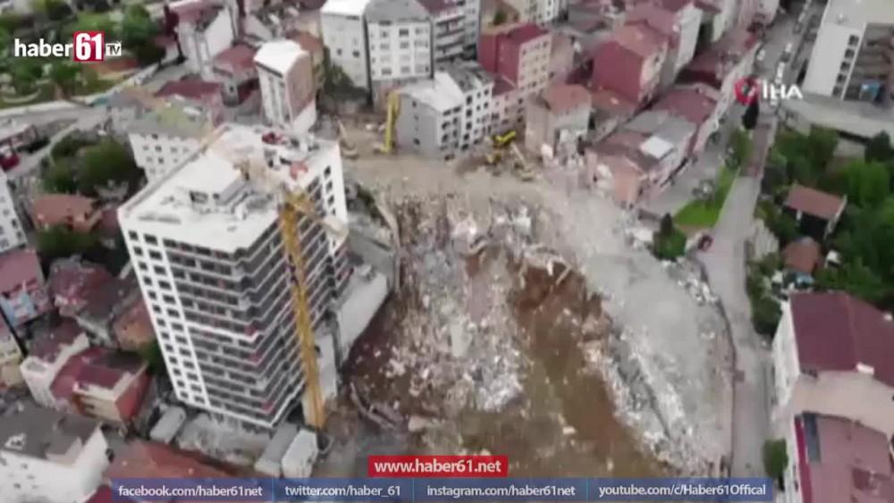 Kağıthane'de yıkım çalışmaları devam ediyor