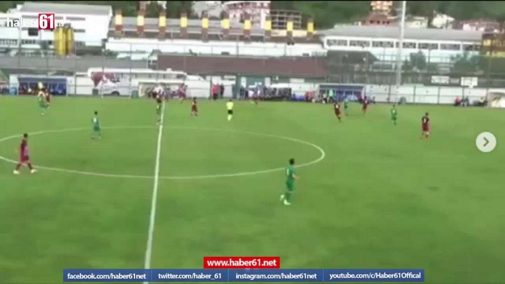 Berkay Sefa Kara'dan Rizespor'a müthiş gol