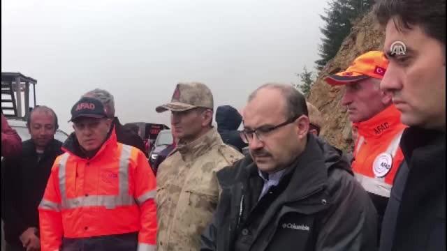 Kayıp Muhabir aranıyor - Vali Ustaoğlu bölgede