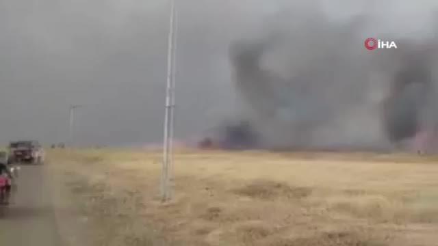 Irak'taki tarla yangınlarında 15 çiftçi öldü