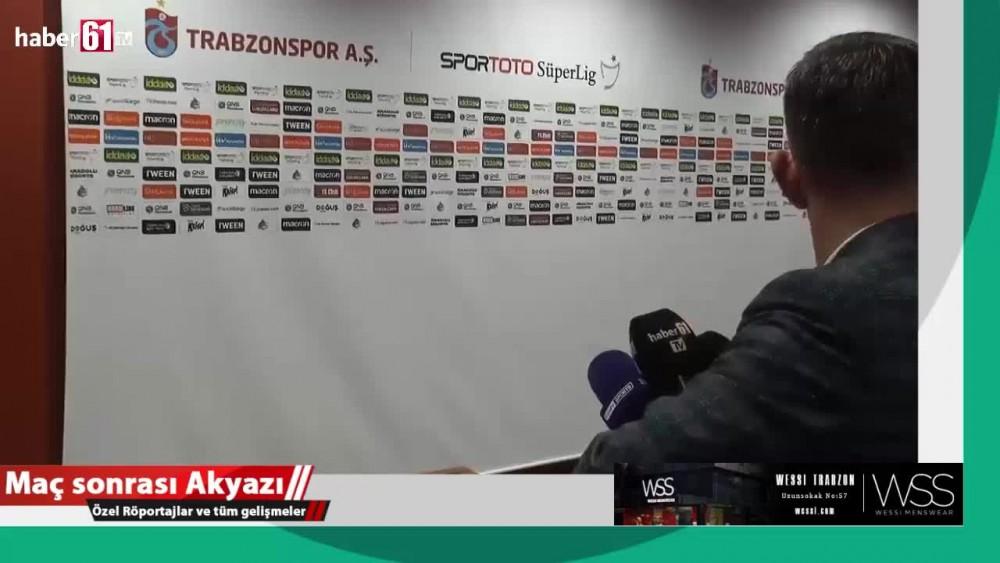 Abdülkadir Parmak Beşiktaş maçı sonunda konuştu