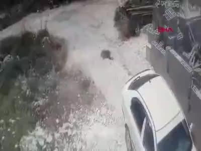 Maskeli İsrailli grup Filistinli ailenin evine saldırdı