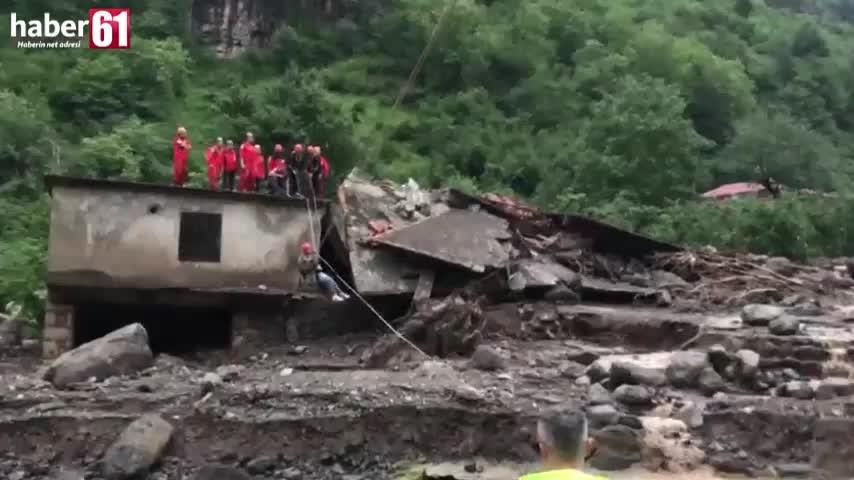 30 kişi böyle kurtarıldı
