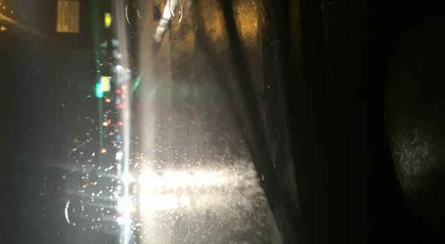 Düzköy Yolu'nda yağış başladı!