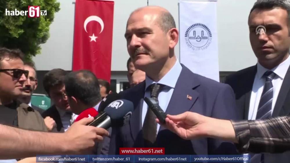 Süleyman Soylu'dan seçime ilk yorum