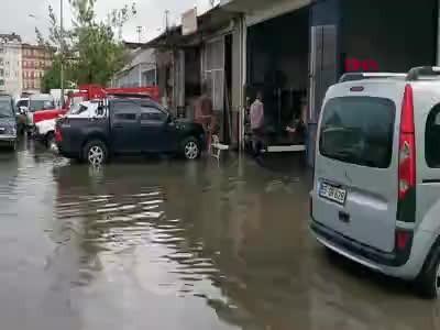 Karadeniz'de yağmur bu kez Ordu'yu vurdu