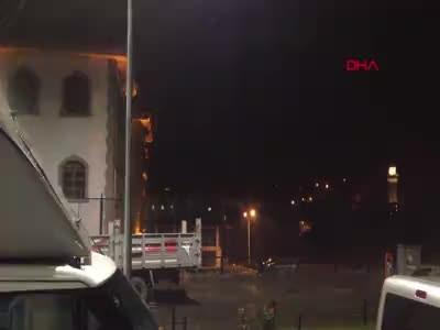 Trabzon'dan yükledi Erzurum'da sele kapıldı