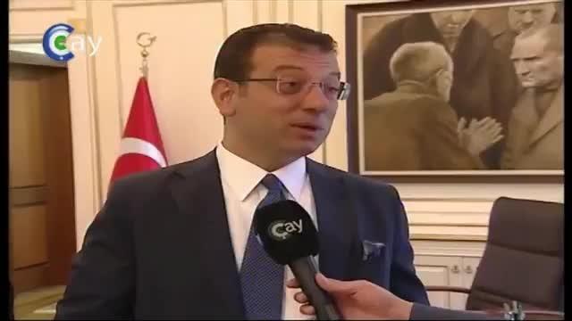 Ekrem İmamoğlu Trabzonspor'a başarı diledi