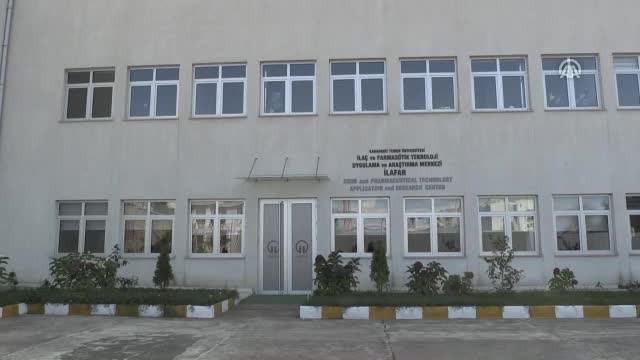 Trabzon'da ilaç etkin maddeleri ve formülasyonları geliştiriliyor