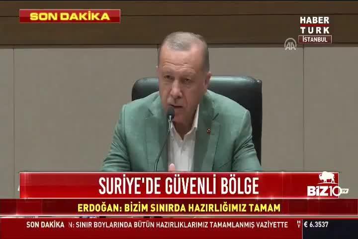 Erdoğan'dan Fox tv'ye tepki