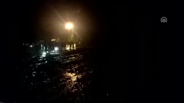 Araklı-Bayburt yolu ulaşıma açıldı