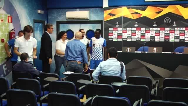 Getafe Teknik Direktörü Jose Bordalas'ın basın toplantısı