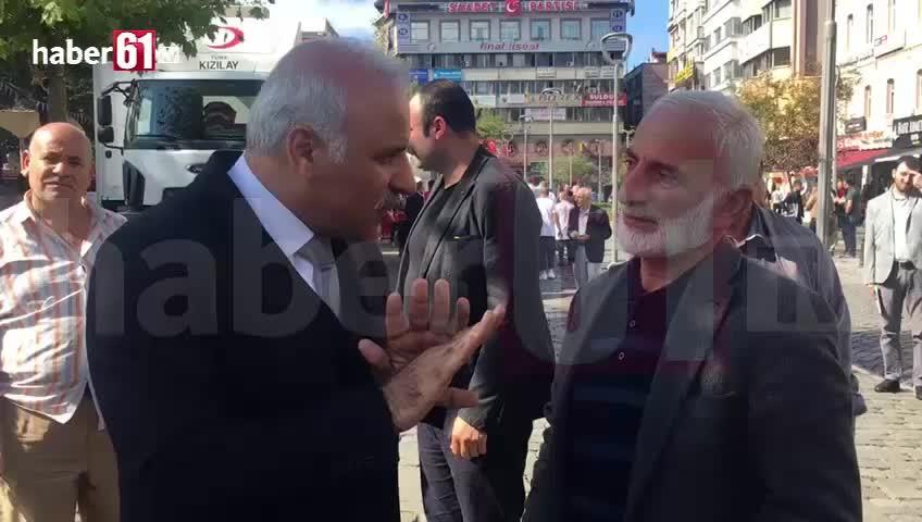 Murat Zorluoğlu Uzungöl'de yıkım yapmayın diyen vatandaşa bömyle cevap verdi