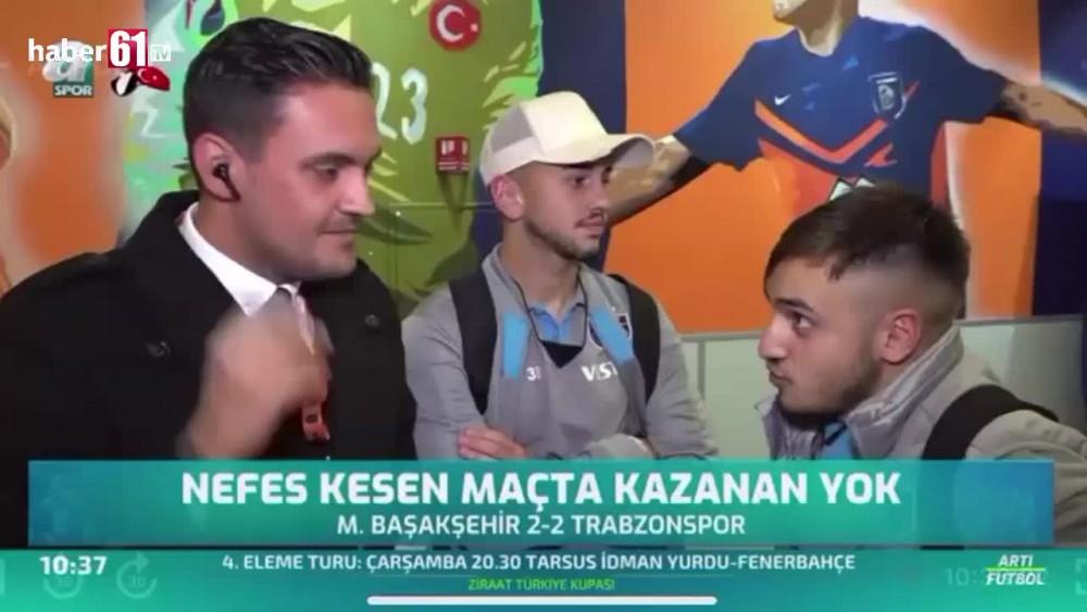 Trabzonsporlu futbolcular gülmekten kırıp geçirdi