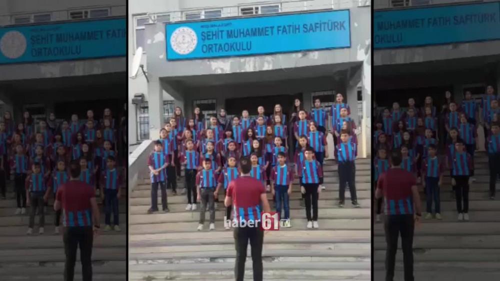 Trabzonspor aşkı heryerde