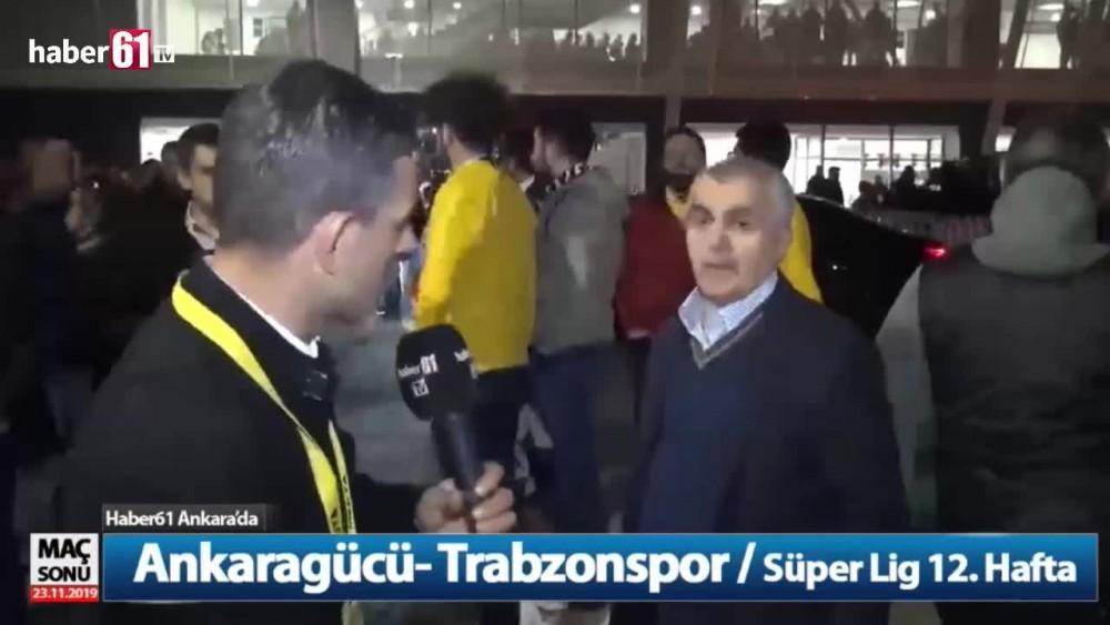 Trabzonspor yöneticisi Bilgin: Galatasaray maçı diğerlerinden farklı değil